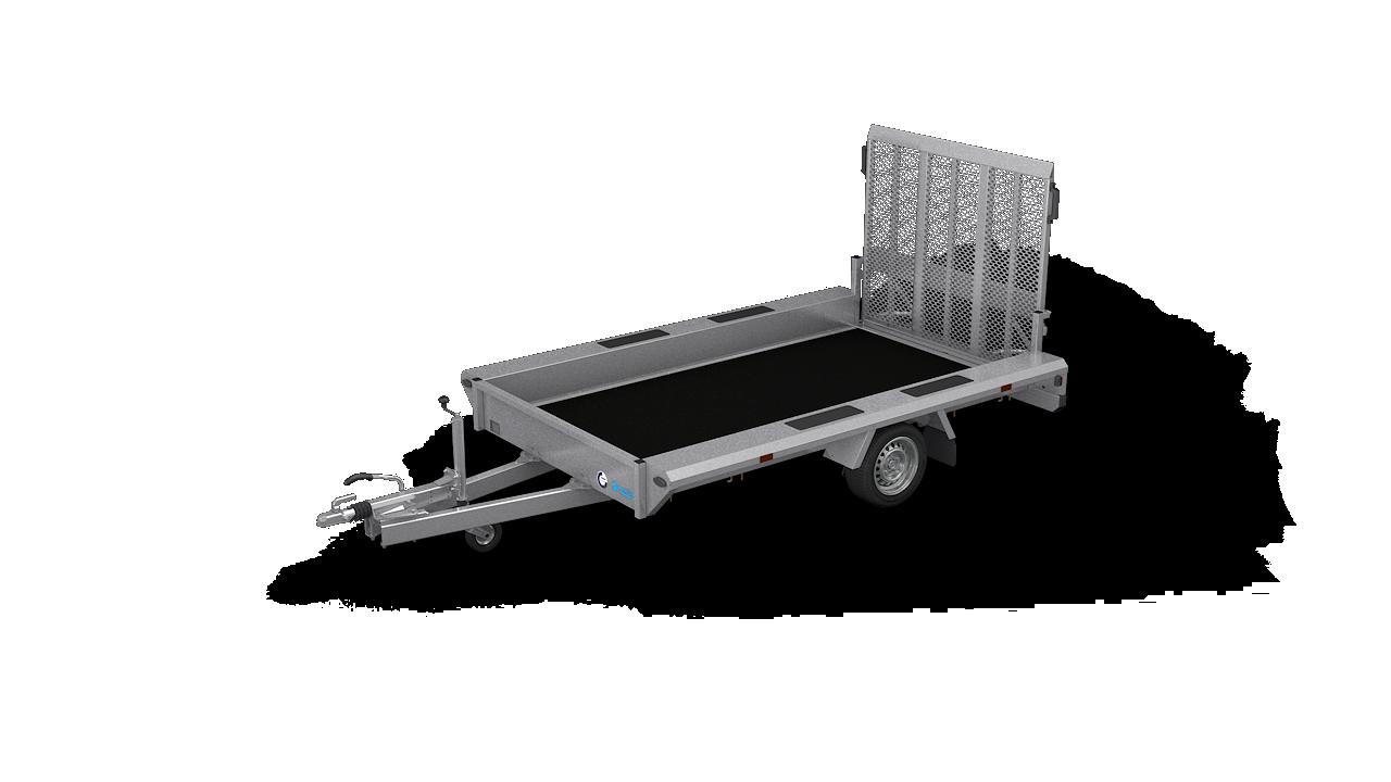 HAPERT Transportanhänger INDIGO LF-1 nicht kippbarer Maschinentransporter