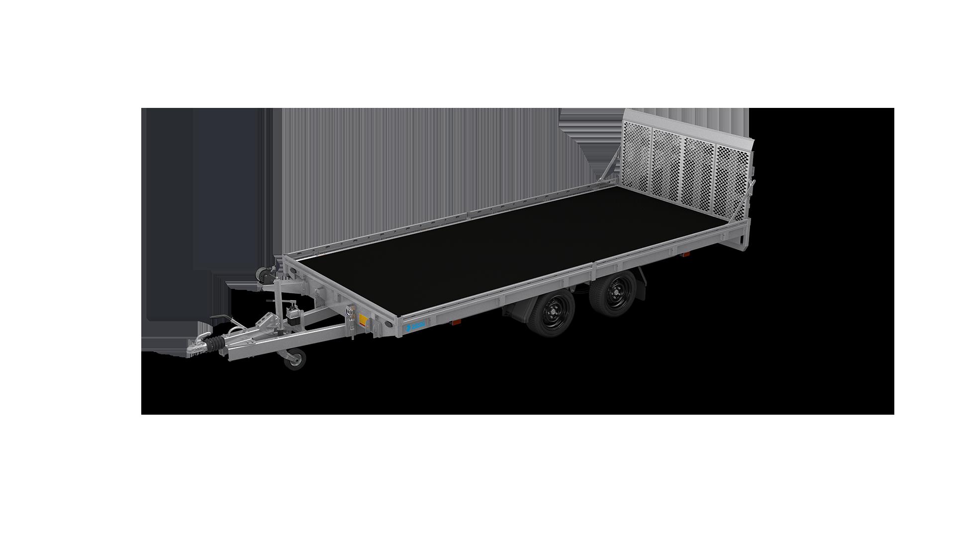 HAPERT Transportanhänger INDIGO HT-2 hydraulisch kippbarer Maschinentransporter